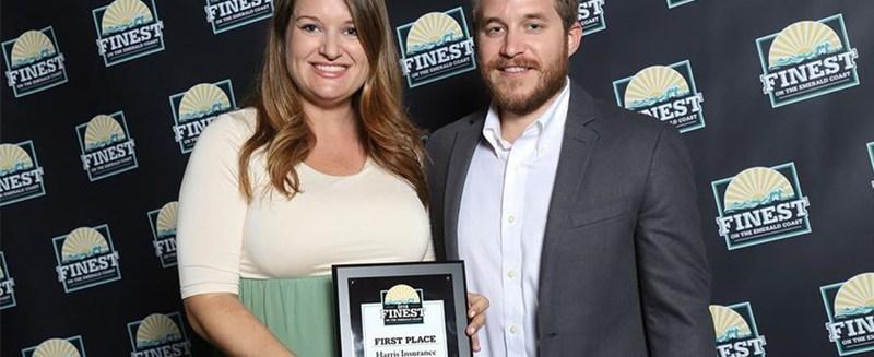 Harris Insurance named Finest on the Emerald Coast 2018