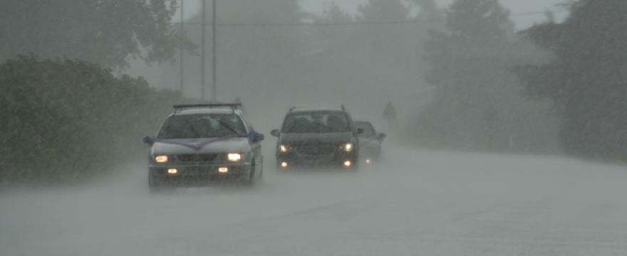 Be Prepared When Bad Weather Strikes While Driving