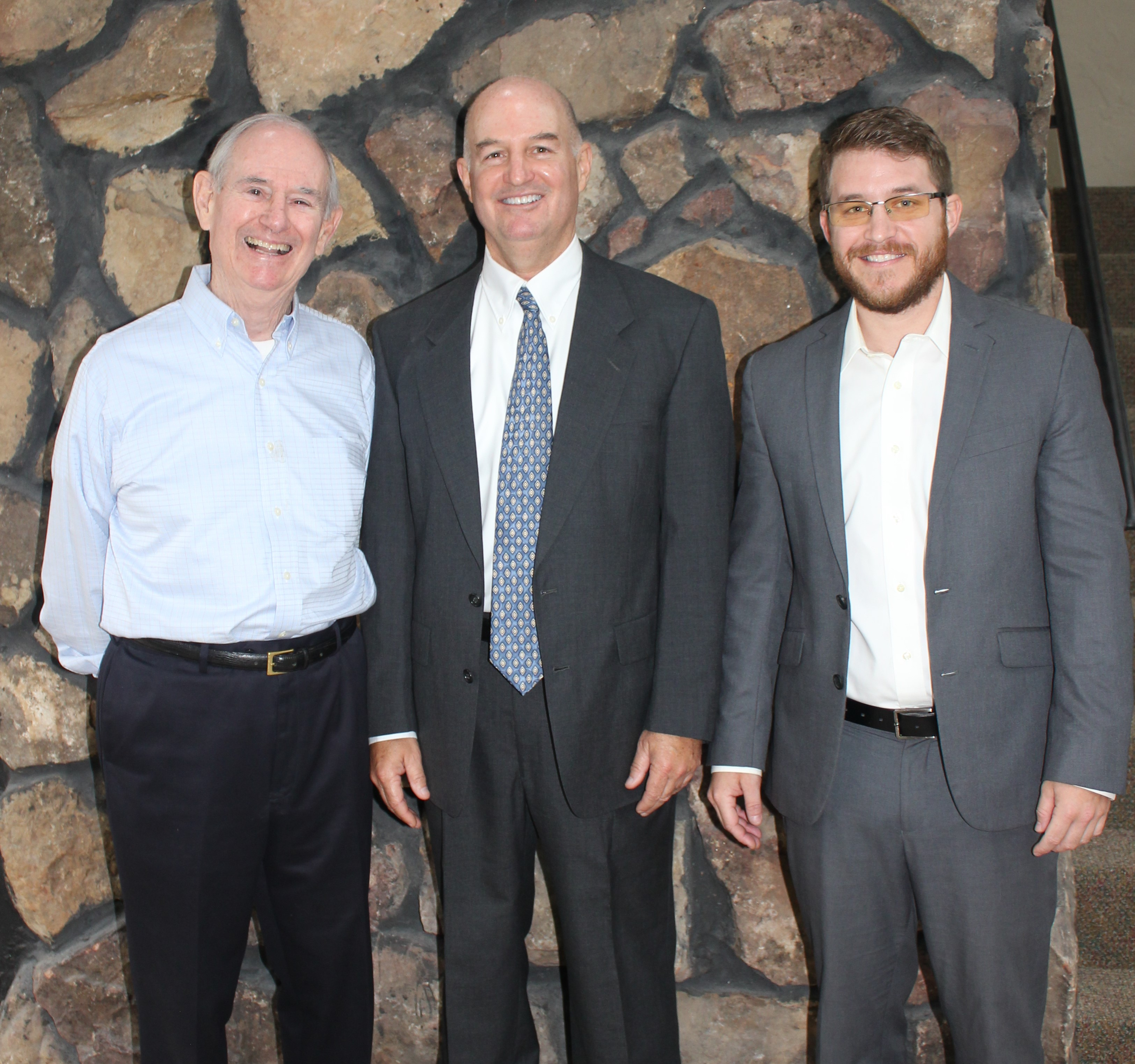 Cyrus Harris, Whit Harris, and Garrett Harris