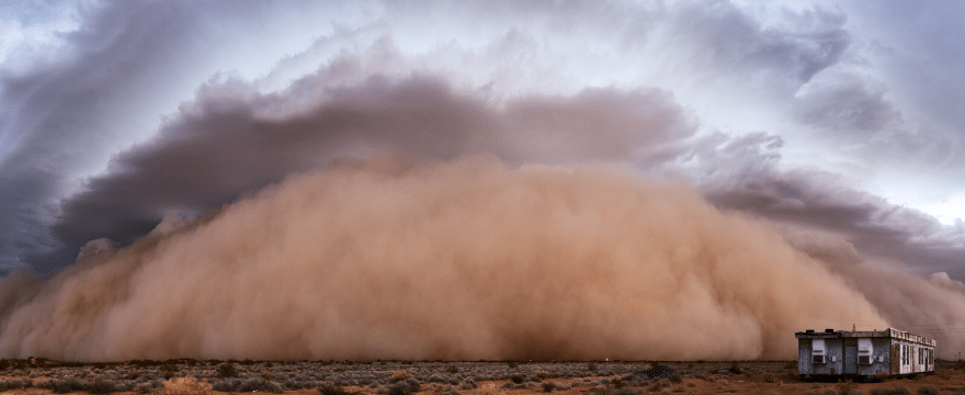 Sahara Dust Affects Everything — Even Insurance