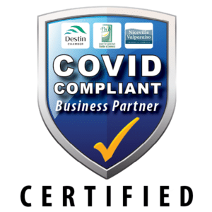 Harris Insurance is COVID Certified by surrounding Chamber of Commerces.